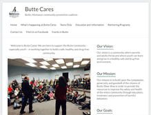 Tablet Preview of buttecares.org